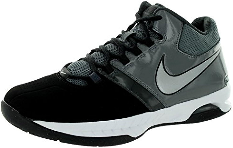 Nike Men's Air Visi Pro V Basketball Shoes, Black/Grey/Anthracite/Metallic Silver, 46 D(M) EU/11 D(M) UK