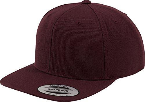 Imagen de flexfit tapa classic snapback, maroon, one size, 6089m