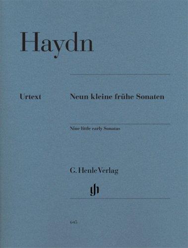 Neun kleine frühe Sonaten Hob. XVI:1, 3, 4, 7-10, G1, D1
