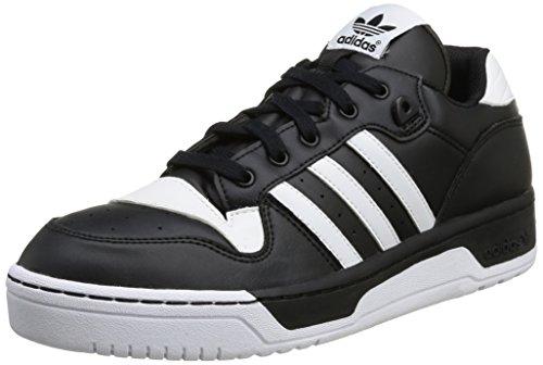 Adidas, Rivalry Lo, Scarpe Sportive, Uomo Cblack/Ftwwht/Ftwwht