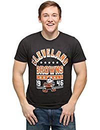 Junk Food Men's Cleveland Browns Kickoff Crew T-Shirt