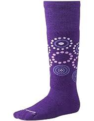 Smartwool paire de chaussettes d'hiver pour enfant motif à pois