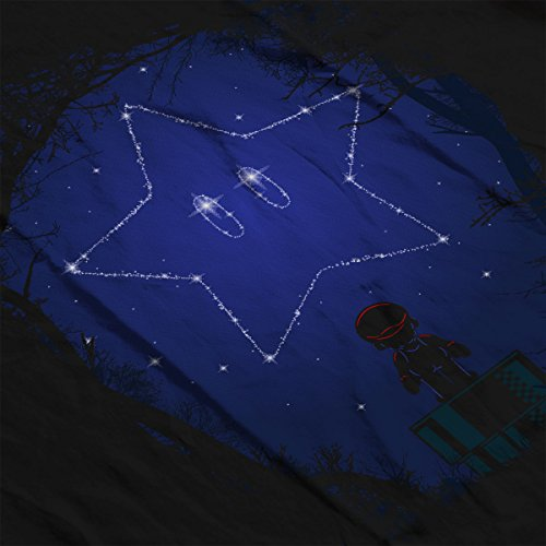 Star Constellation Mario Men's Vest Black