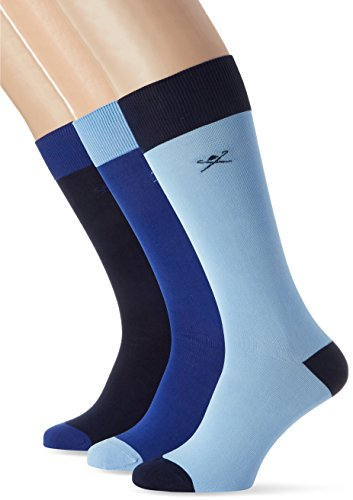 hackett-mens-logo-3pk-simple-calf-socks-blue-multi-blue-5aa-one-size