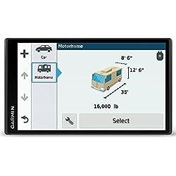 Garmin Camper 770 LMT-D - GPS Camping Car + Caméra de recul sans fil BC 30 - GPS 7 pouces - Cartes Europe 46 pays - Cartes et Trafic gratuits à vie