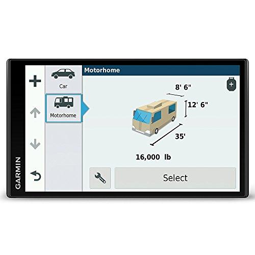 garmin bc20 Garmin Camper 770 LMT-D Navigationsgerät (17,7 cm (6,95 Zoll) Multitouch-Glasdisplay, Europa, Fahrspurassistent, Integriertes WLAN) schwarz