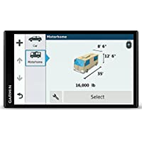 Garmin Camper 770 LMT-D - GPS pour Camping Car - 6,95 pouces - Cartes Europe 46 pays