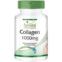 tabletas de colágeno - para 20 días - dosis alta - 180 comprimidos - con la