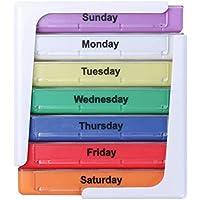 putwo Pillendose für 7Tage Weekly Pille Spender mit Fall preisvergleich bei billige-tabletten.eu