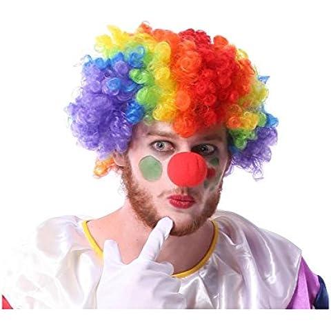 XYXY Pagliaccio accessorio di Halloween party supplies parrucche del pagliaccio