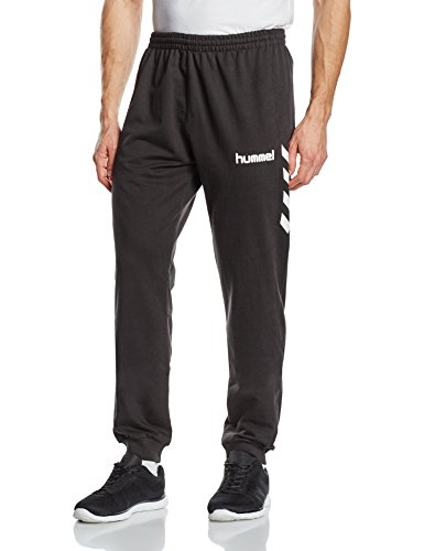 Hummel Herren Core Cotton Pant, Black, L, 32-175-2001