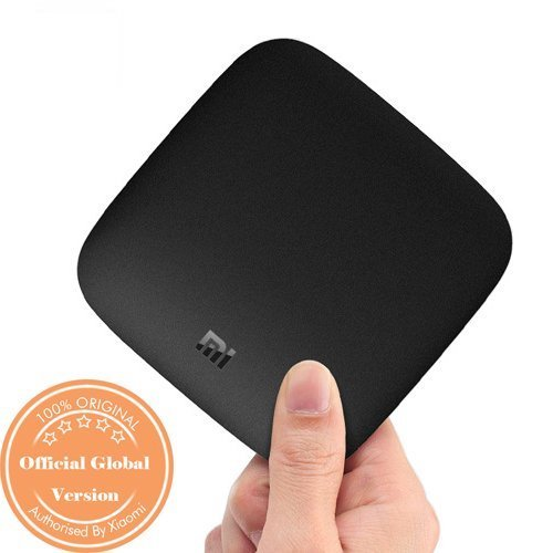 Linkcon 4K Ultra HDR Android 6.0 Xiaomi Mi Box 3 with Silicon Remote Cover