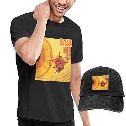 CINDYO Hemden Kate Bush The Kick Inside T-Shirts Mens Tee T-Shirts Vintage Jeans Baseball Cap Hat (Gucci Kicks)