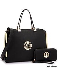 Mkp Collection Beautiful Satchel With Wallet Set~ Designer Purse~Handbags For Woman~Fashion Handbag~Multi-Choose...