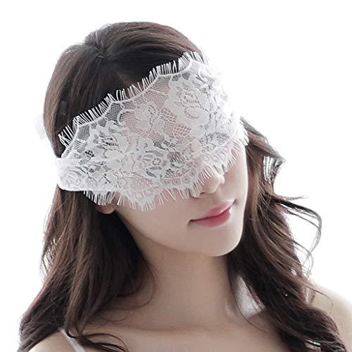 - Weiße Augenklappe Kostüm