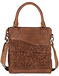 Greenland Femi & Nine Ladies Bag Sac à main cuir 32 cm