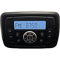 Impermeabile Marino Barca Radio Audio Stereo Bluetooth per Moto Camper Auto lettore MP3RZR carrello da golf ricevitore audio UTV Sistema Audio