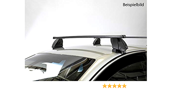 Roof Rack K1 Medium Compatible With Volkswagen Polo V 6r 5 Door 14 17 Auto