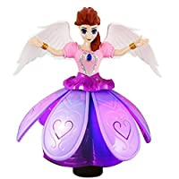 Amazing Crystal Gifts Light-Up-Dancing-Toy-Doll-Fairy-Queen-Musical-LED-Doll-Toys