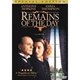 Remains Of The Day - Gunden Kalanlar by Anthony Hopkins