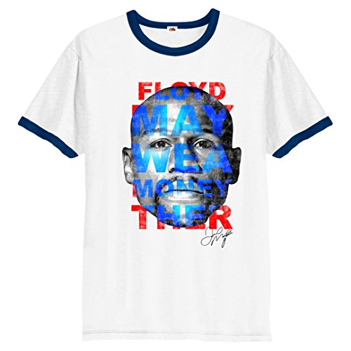 Spoofy Inspired clothing -  T-shirt - Uomo White and Navy