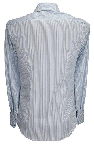 Ex-Store -  Camicia classiche  - A righe - Classico  - Uomo Blu