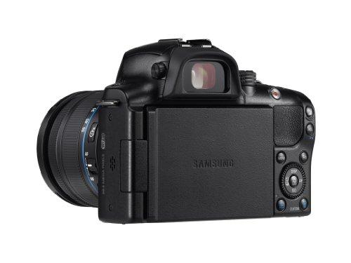 Samsung Kompakte Systemkamera, 20,3Megapixel (NX20), Schwarz - 6