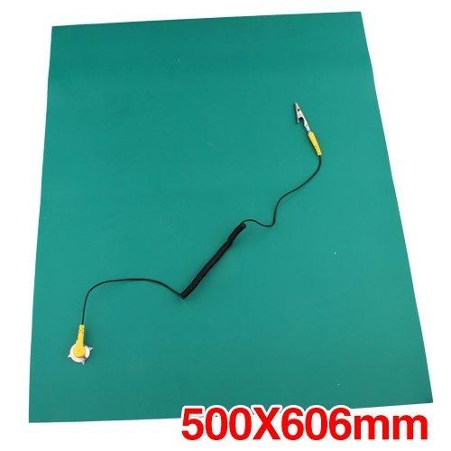 ruen Antistatische ESD Erdungsmatte 500x606mm + Cord ()