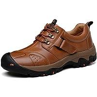 GNEDIAE Zapatillas de Camping y Acampada para Hombres Zapatos de Senderismo Montaña Calzado de Trekking Impermeable y Ligero Transpirables y Antideslizante
