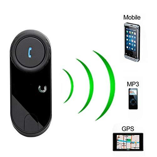 KCaNaMgAl Kabelloses Walkie-Talkie, motorisiertes Bluetooth-Headset, intelligente Intercom-Funktion, automatisches Beantworten, 800-Meter-Intercom, Musik oder Radio