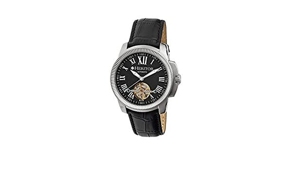 173f088bd Buy Heritor Automatic Hr2902 Franklin Mens Watch Online at Low Prices in  India - Amazon.in
