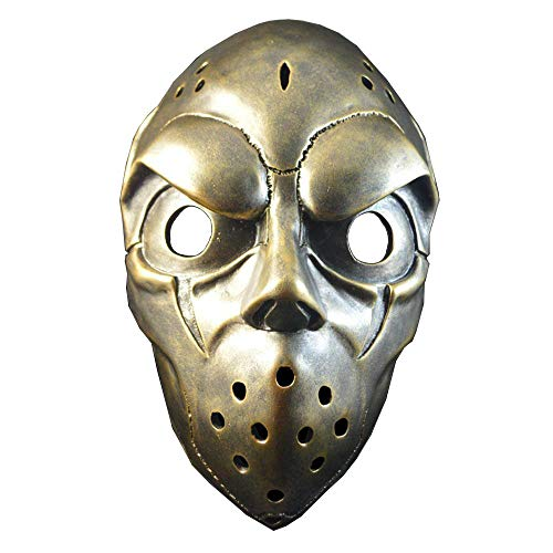 QJXSAN Halloween Ball Performance Maske Vollmaske (Halloween, Eishockey Masken)