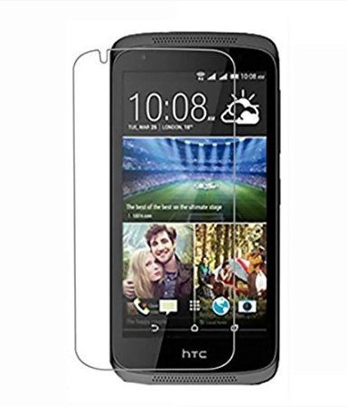 M.G.R HTC Desire 526G Plus [3D Touch Compatible - Tempered Glass] Screen Protector with [9H Hardness] [Premium Crystal Clarity] [Scratch-Resistant]