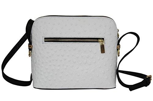 AMBRA Moda - Sacchetto Donna bianco / nero