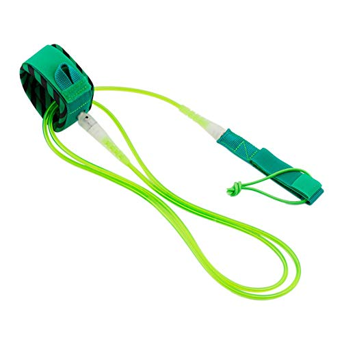 Yao Rainbow Series Surf Safety Rope Ankle Leash Surfboard Rope Surfing Cord Green