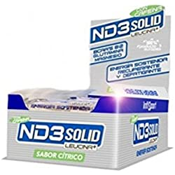 Infisport ND3 Sólido Barrita Energética 21 x 40g Cítrico con Cafeína