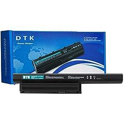 DTK VGP-BPS26A VGP-BPS26 VGP-BPL26 Batterie pour Sony Vaio PCG-71 PCG-71614M PCG-71811M PCG-71911M Ordinateur PC Portable [6 Cellules 5200mAh 10.8V]
