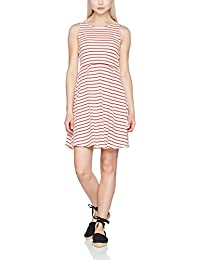 VERO MODA Damen Kleid Vmoslo Stripe S/L Short Dress D2-3