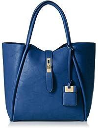 Stella Ricci Women's Shoulder Bag (Blue) (SR135HBLU)