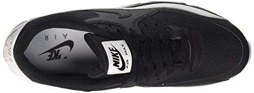 Nike Air Max 90 Essential, Baskets Mode Homme Multicolore (Black/black/white)