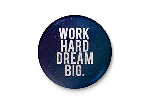Alter Ego Work Hard Dream Big Motivational Badge