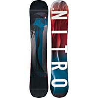 Nitro Snowboards All Mountain–Tarjeta, Hombre, Azul y Rojo, 162