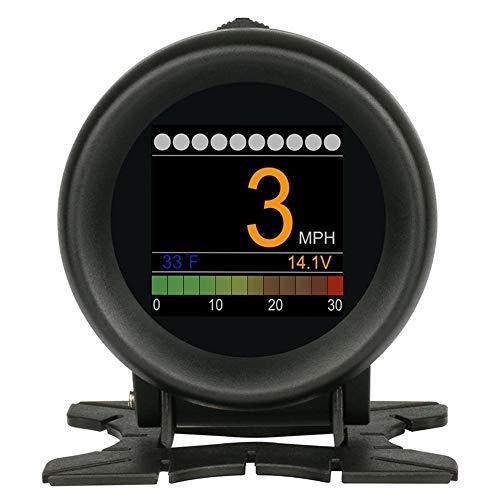 YouN AUTOOL X60 OBD Meter OBD2 HUD Digital Water Temp Gauge Voltage Speed Meter -