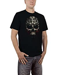 Touchlines Men's Skull Art T-Shirt