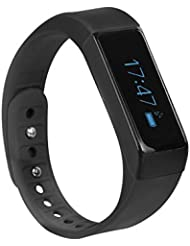 Trevi SF 200wasserabweisend USB Smart Sport Fitness Armband. Kompatibel mit iPhone 4S, 5.6, Android 4.3und höher.
