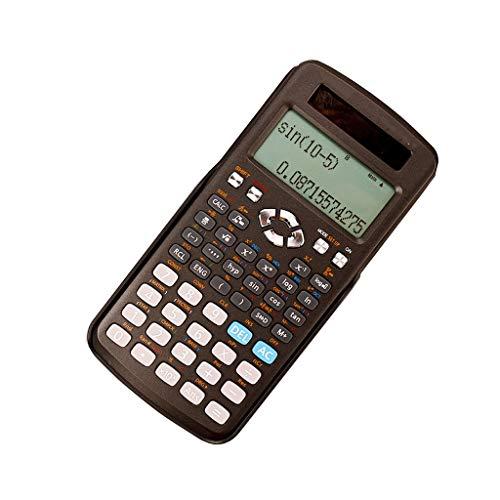 Wissenschaftlicher Taschenrechner mit 12-Bit HD Display Widescreen-Display Studenten verwenden einen Solar-Taschenrechner Dual-Stromversorgung und Multifunktionsgerät B-2