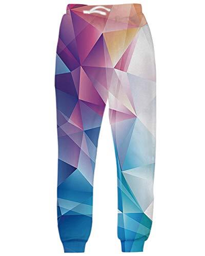 uideazone Unisex 3D Printed Graphric Sport Jogging-Hosen-beiläufige Jogginghose Fashion Party Festival Hosen für alle Jahreszeiten - Party-hosen