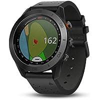 Garmin - Approach S60 Premium - Montre GPS de golf - Noire
