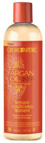 Creme of Nature Huile d'Argan Condition Traitement Intense 355 ml (pack de 2)