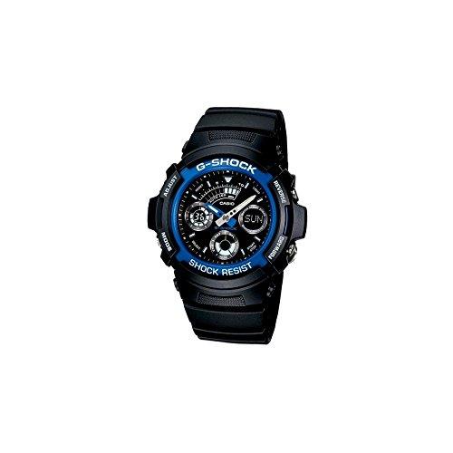 Casio G-Shock Mens AnalogueDigital Quartz Watch with Resin Strap  AW-591-2AER